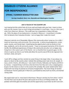 DCAI 2020 Spring/Summer Newsletter