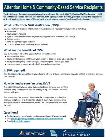 EVV Fact Sheet For Participants
